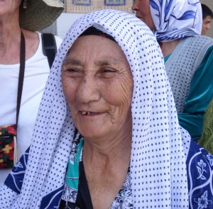 Woman from Ferghana Valley